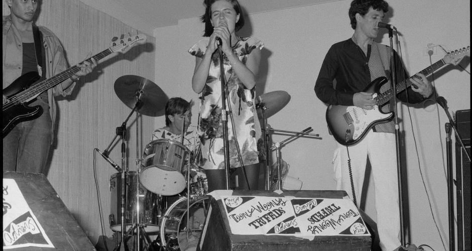 Image: Teeny Weeny performing at the Broadway Tavern, Nedlands 1980 | BA3226/7